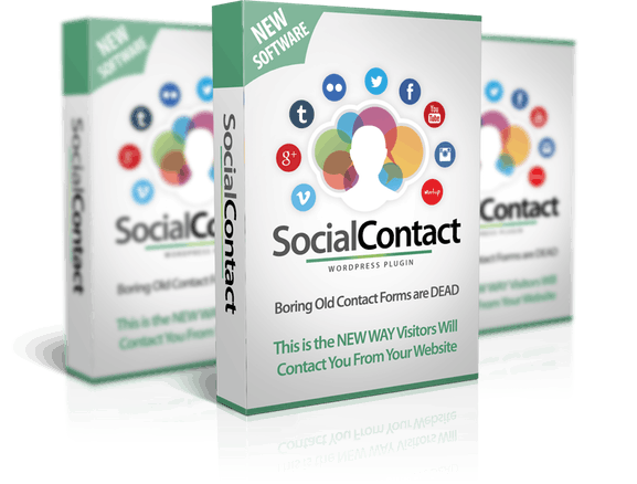 WP Social Contact Review – Get More Leads from Your Website Using This
